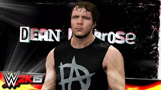 WWE 2K15 PC Mods : Dean Ambrose Real Hair Mod (New Hairstyle) V2