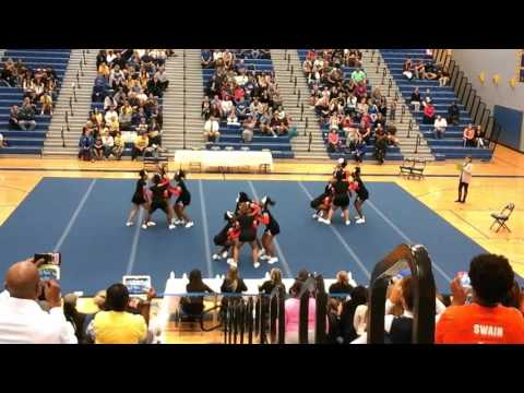 James Monroe High School at The Den Cheer Invitational 2015