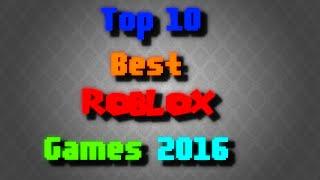 Top 10 melhores jogos de Roblox-2016