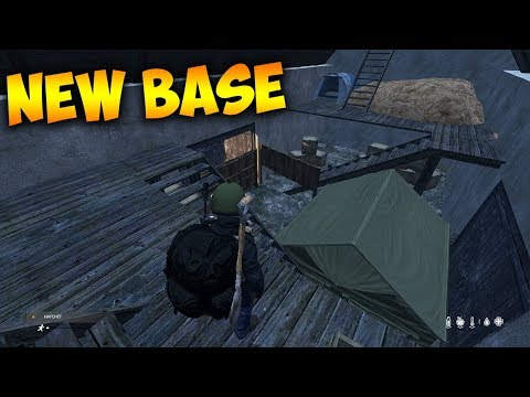 My New Favorite Base Location DayZ Gameplay Best Base Location - Barn Base Build