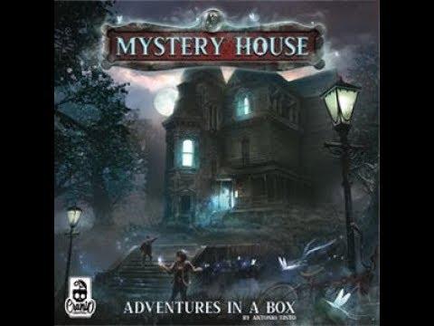 Origins 2019 Bonanza: Mystery House: Adventure In A Box Interview