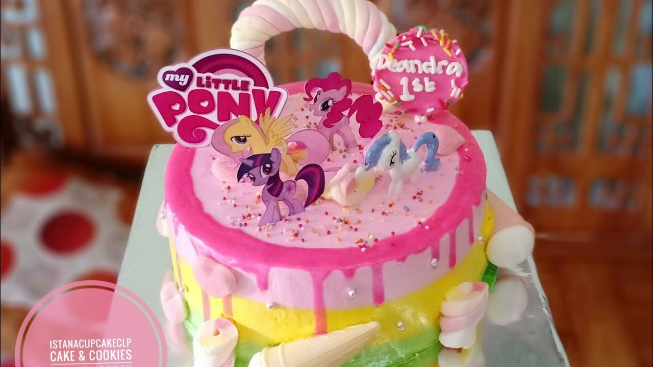 Little Pony Kue Ulang Tahun Cara Menghias Cake Little Pony