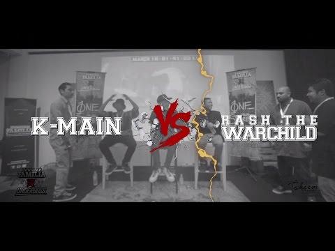 Lawalah X Underboss - Rap Battle - K-Main VS Rash