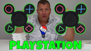 Hand Fidget Spinner PS4 Playstation Test Review Francais ThinkUnBoxing 4K