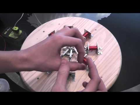 8 Cylinder Radial Solenoid Engine | How It Works