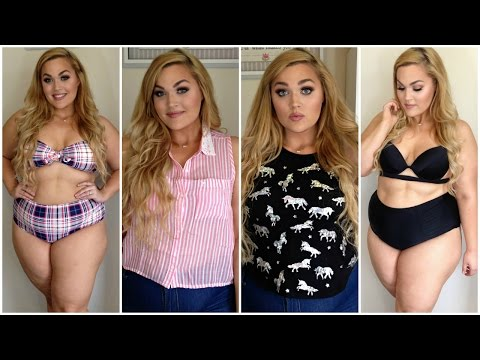 Summer Clothing Haul + Try-On! Bikinis, Crop Tops & More ❤︎