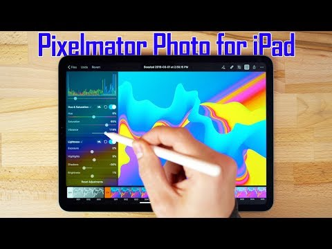 Pixelmator Photo 2019 For IPad - Full Guide & Review!