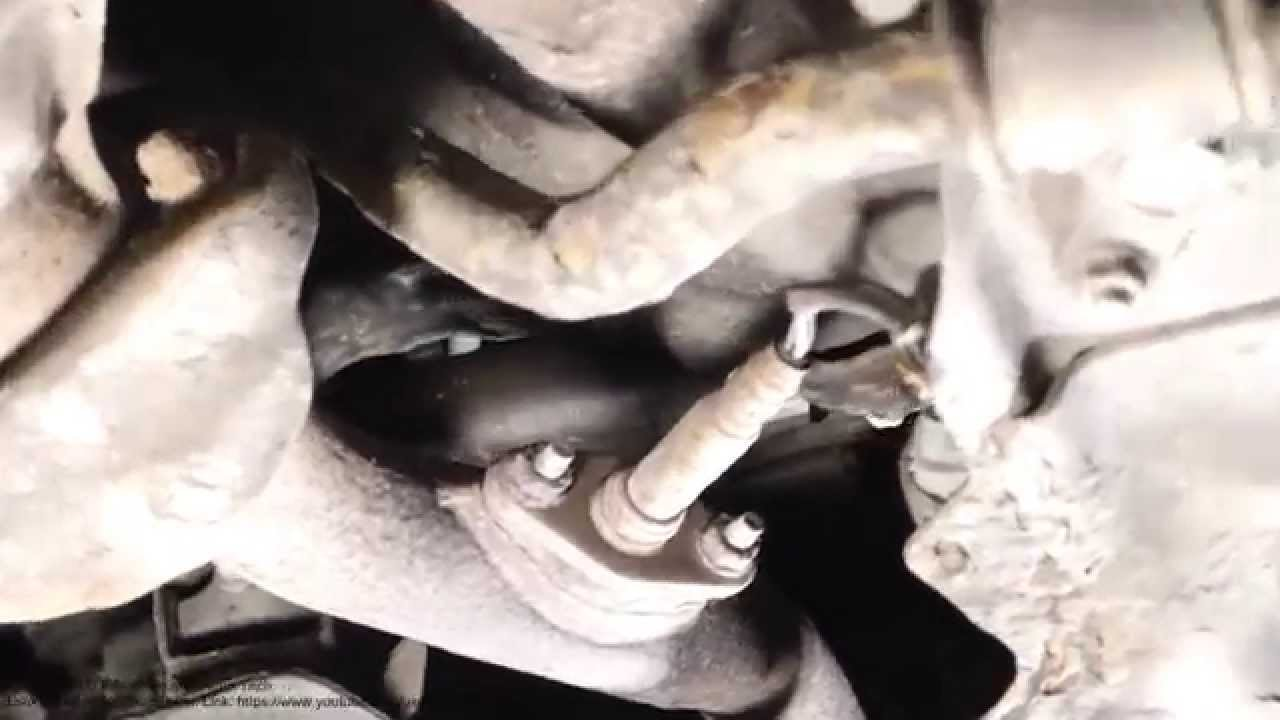 oxygen sensor replace info toyota corolla 1991 to 2000 this is catalytic converter part youtube [ 1280 x 720 Pixel ]