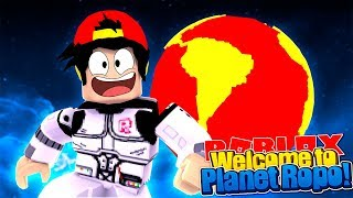 ROBLOX - WELCOME TO PLANET ROPO?!!!!