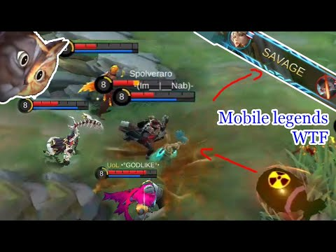WTF Mobile Legends Funny Moments  300 IQ Kimmy SAVAGE
