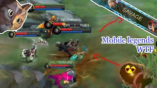WTF Mobile Legends Funny Moments |300 IQ Kimmy SAVAGE