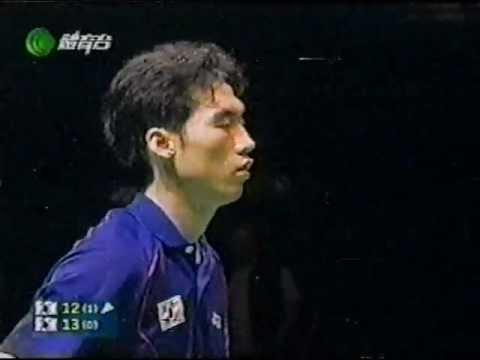 2004 All England-XD F-Kim Dong-Moon/Ra Kyung-Min [KOR] vs Kim Yong-Hyun/Lee Hyo-Jung [KOR]