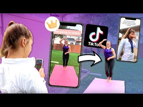 We Made Cheer And Gymnastics Tik Toks Part 2