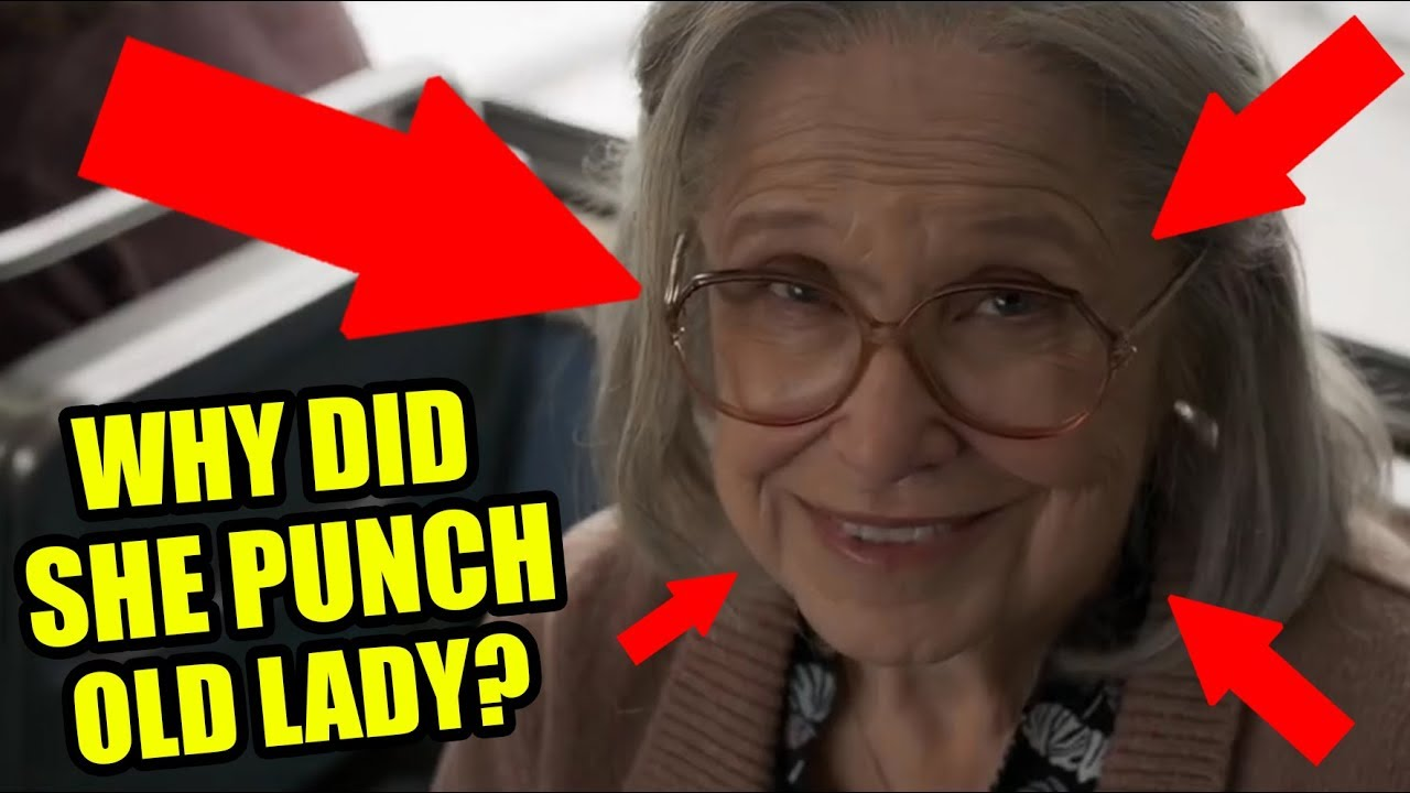 why did captain marvel punch that old lady? the answer may surprise you!