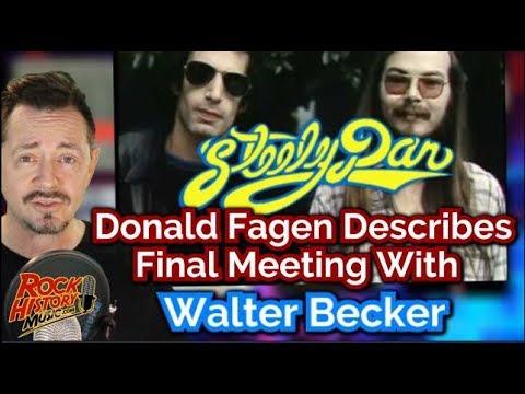 Steely Dan's Donald Fagen Describes Painful Last Meeting With Walter Becker
