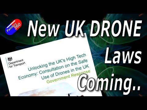 New UK 'Drone' Legislation coming..