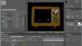 Анимация слоя. AE CS4(3/10)