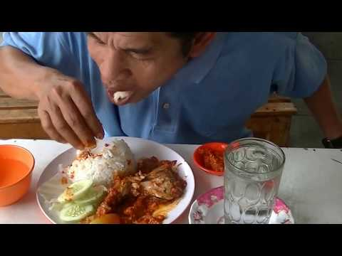Jakarta Street Food 290 Roasted Fire Cracker Chicken  Ayam Mercon Bakar
