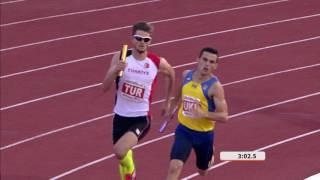 29 07 2017 ATHLETICS Men 4x400m Relay Final Medal Ceremony HIGHLIGHTS