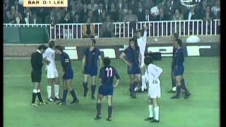 Barcelona v Leeds: 1975 European Cup Semi-Final - 2nd Leg