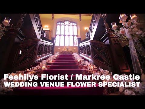 Wedding Venue Flowers by Feehilys Florist - Markree Castle 2017