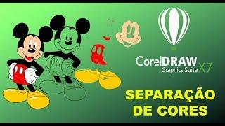 Separação de Cores no Corel Draw