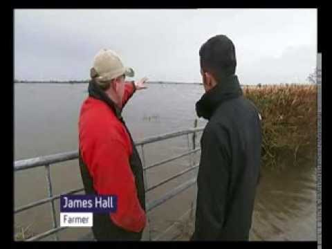 C4 News: Env Sec Owen Paterson visits Somerset Levels 'A third world country'