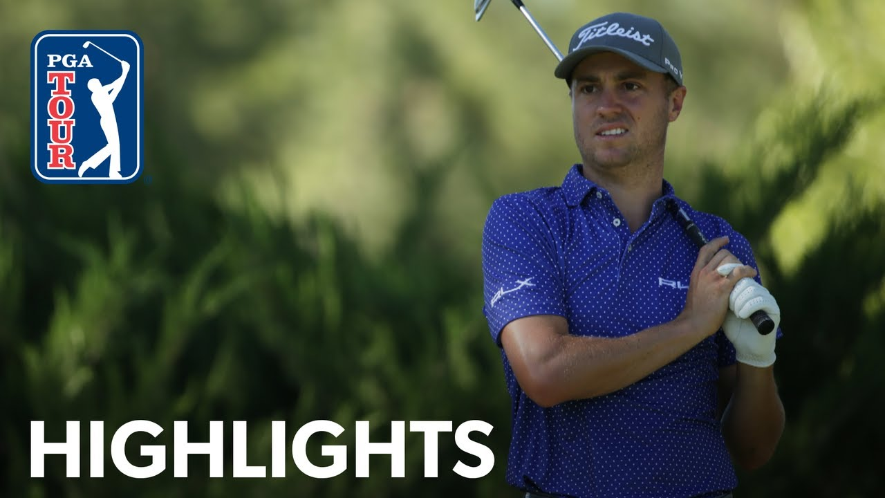 Justin Thomas shoots 6-under 66 | Round 2 | THE CJ CUP 2020