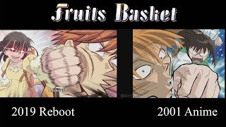 Fruits Basket 2001 & 2019 Reboot ANIME COMPARISON! Update Opening Song Confirmed! | Ami Yoshiko