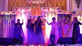 Dance Performance of Massi's , Bua's & Mother on Wedding of Yatin Sapra & Daizy