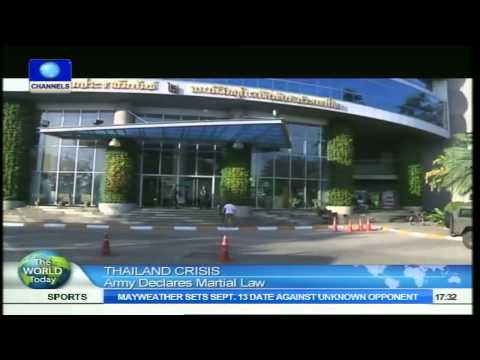 The World Today: Thailand Army Declares Martial Law  20/05/14