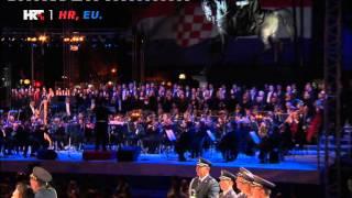 Croatian Anthem Lijepa Naša Domovino Live Zagreb 1.7.2013.