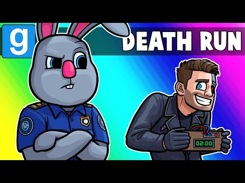 Gmod Death Run Funny Moments - Going Through Airport Security! (Garry's Mod)