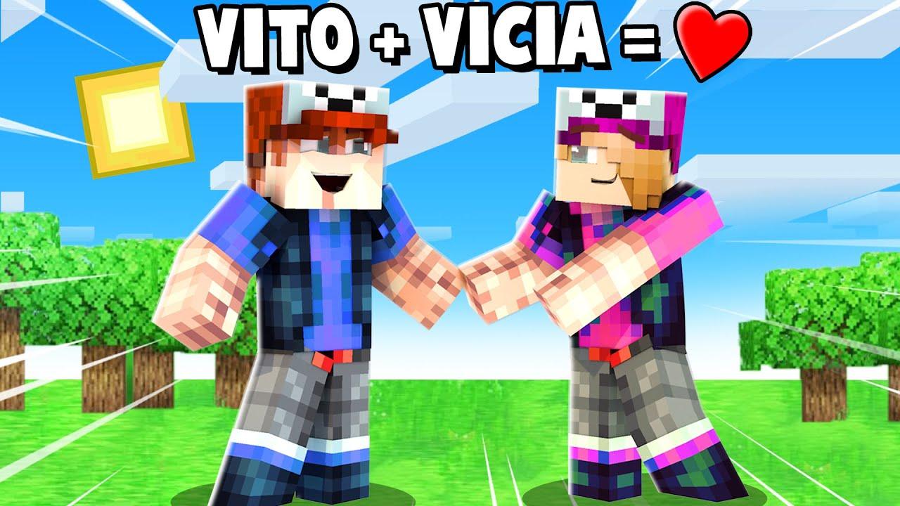 VITO + VICIA = MIŁOŚĆ ❤️ (Minecraft Roleplay) | Vito i Bella
