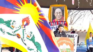 TIBET ASSOCIATION OF SANTA FE 2019 60th COMMEMORATION OF TIBETAN NATIONAL UPRISING Clip 1