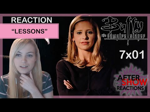 "Buffy The Vampire Slayer 7x01 - ""Lessons"" Reaction"