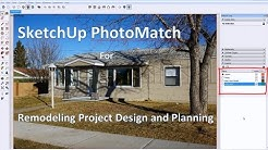 Visualize Exterior Remodeling Design with SketchUp Photomatch