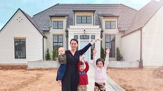 Empty House Tour Of Our Dream Home Build!