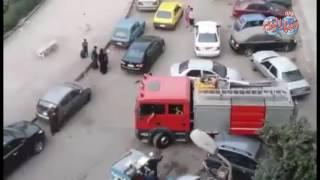 أخبار اليوم   حريق بميدان السكاكيني بحي الظاهر بوسط القاهرة