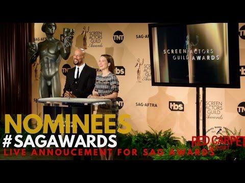 23rd Annual Screen Actors Guild Awards® Nominee Announcement #WinnersList #SAGAWARDS