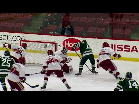 Recap: Harvard Men's Ice Hockey vs. Dartmouth - Mar. 11, 2018