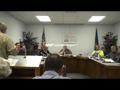 Beloit, KS City Council 12-3-13 Part 1