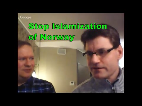 Live Stream (3/17/18) with Stig Andersen, leader of Stop Islamization of Norway