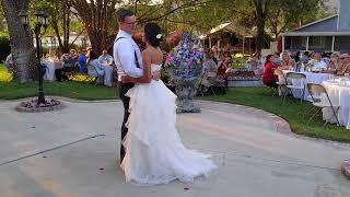 www.charliedjandlighting.com -- 08/12/18 Outdoor Wedding Reception in Riverside, California