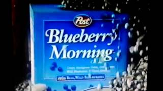 Post Blueberry Morning Cereal
