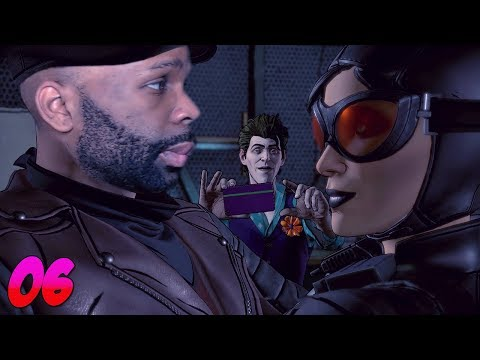 Batman Telltale Season 2 Episode 3 Gameplay Walkthrough Part 1 - Harley Quinn is a Savage