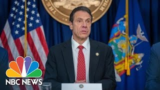 New york governor andrew cuomo holds a briefing on the coronavirus pandemic.» subscribe to nbc news: http://nbcnews.to/subscribetonbc» watch more video: ...
