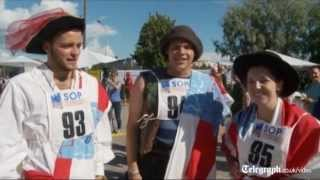New world record in mobile phone throwing championship