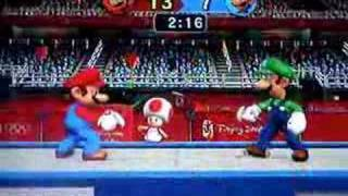 Mario and Sonic at the Olympic Games- Fencing