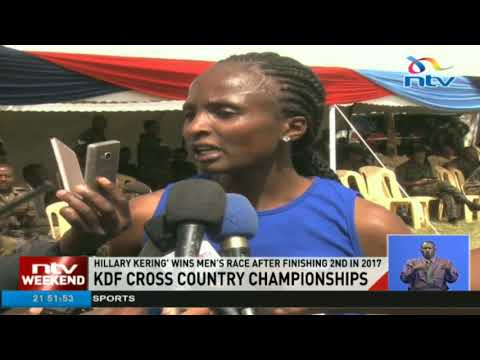 KDF holds cross country championships